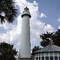 St. Simon's Island Georgia Lighthouse by Kathy Clark