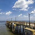 St. Simon's Island Georgia Pier by Kathy Clark