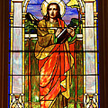 St. Stan's Stained Glass by Penny Meyers