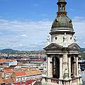 St Stephen's Basilica Bell Tower In Budapest by Artur Bogacki