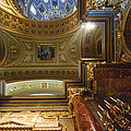 St. Stephens Ceiling 1 by David Waldo