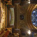 St. Stephens Ceiling 2 by David Waldo