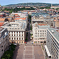 St Stephen's Square In Budapest by Artur Bogacki