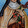St. Theresa Mosaic by Andrew Fare