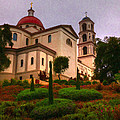 St. Thomas Aquinas Church Large Canvas Art, Canvas Print, Large Art, Large Wall Decor, Home Decor by David Millenheft