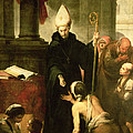 St. Thomas Of Villanueva Distributing Alms, 1678 Oil On Canvas by Bartolome Esteban Murillo