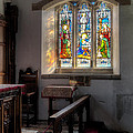 St Tysilio Window  by Adrian Evans