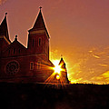 St Vincent Basilica At Sunset by Tom Gari Gallery-Three-Photography