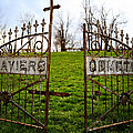 St. Xaviers Cemetery by Angie Harris