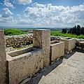 Stables At Tel Meggido by David Morefield