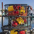 Stack Of Crab Pots by Bryan Mullennix