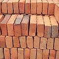 Stacked Adobe Bricks by Robert Hamm