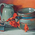 Stacked Bowls #4 by Jean Crow