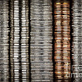 Stacked Coins by Elena Elisseeva