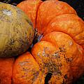 Stacked Pumpkins by Jim Shackett