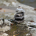 Stacked Stones by Bill Cannon