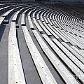 Stadium Bleachers by Jason O Watson