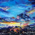 Stadium Sunset by Roni Meunier