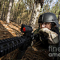 Staff Sergeant Hydrates by Stocktrek Images