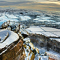 Staffordshire Winter Moorland by Colin Bruce