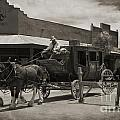 Stage Coming Through Tombstone by John Malone