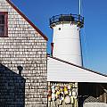 Stage Harbor Light by John Greim