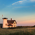 Stage Harbor Lighthouse by Bill Wakeley