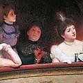 Stage Or Au Theatre by Federico Zandomeneghi