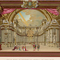 Stage-set Designs For  Productions by Mary Evans Picture Library