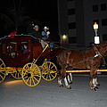 Stagecoach And Horses by Robert Floyd