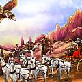 Stagecoach Robbery by Reynold Jay