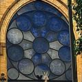 Stain Glass Church Window by Jannice Walker