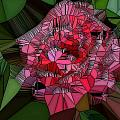 Stain Glass Rose by April Patterson