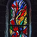 Stained Glass 1 by Karen Saunders