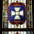 Stained Glass 3 Panel Vertical Composite 01 by Thomas Woolworth