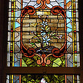 Stained Glass 3 Panel Vertical Composite 02 by Thomas Woolworth