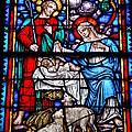 Stained Glass 51 by Joyce StJames