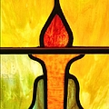 Stained Glass 8 by Tom Druin