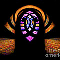 Stained Glass Abstract by Sue Stefanowicz