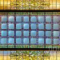 Stained Glass At Md State House by Mark Dodd