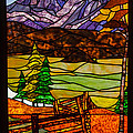 Stained-glass-beauty by Robert Bales