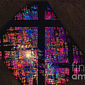 Stained Glass Cross by David Arment