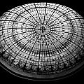 Stained Glass Dome - Bw by Stephen Stookey