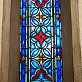 Stained Glass In Redeemer Lutheran by Cynthia  Clark