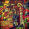 Stained Glass Proverbs 16 Verse 3 by Zech Browning