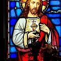 Stained Glass Saviour by Ed Weidman