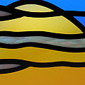 Stained Glass Scenery 3 by Wendy Wilton
