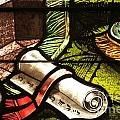 Stained Glass Scroll by Adam Jewell