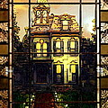 Stained Glass Template Victorian Twilight by Ellen Cannon