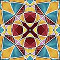Stained Glass Window 5 by Shawna Rowe